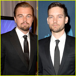 Leonardo DiCaprio & Tobey Maguire - GLAAD Media Awards 2013