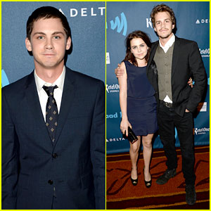 Logan Lerman & Mae Whitman - GLAAD Media Awards 2013