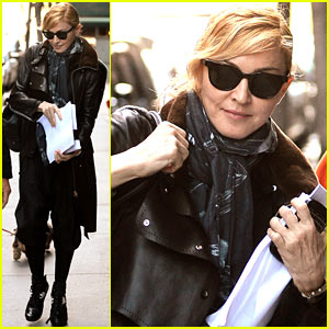 Madonna: Manhattan Business Meeting!
