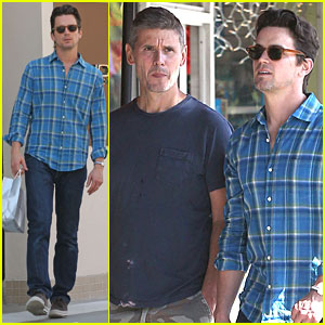 Matt Bomer: Spa Session with Simon Halls!