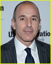 Matt Lauer Pokes Fun At His Reputation at NYC Event