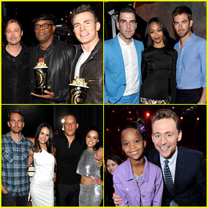 MTV Movie Awards 2013: Backstage Photo Roundup!