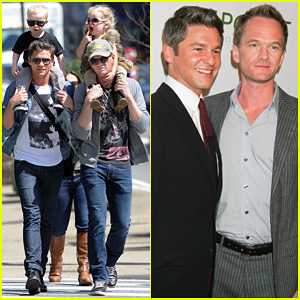 Neil Patrick Harris & David Burtka: Madison Square Park with the Kids!