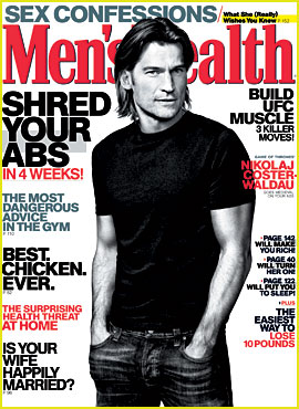 Nikolaj Coster-Waldau Covers 'Men's Health' May 2013