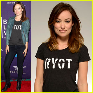 Olivia Wilde: 'Rider & the Storm' Screening at Tribeca!