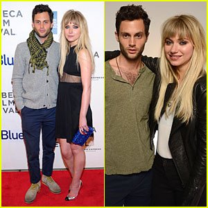 Penn Badgley & Imogen Poots: 'Greetings From Tim Buckley' Tribeca Premiere!
