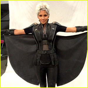 Pregnant Halle Berry as Storm in New 'X-Men' Film - First Pic!