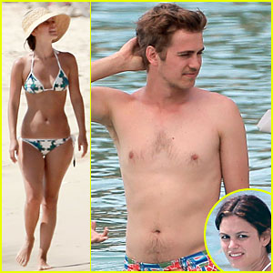 Rachel Bilson: Bikini Barbados Babe with Shirtless Hayden Christensen!