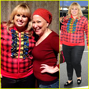 Rebel Wilson: Broadway & Talk Shows in New York!