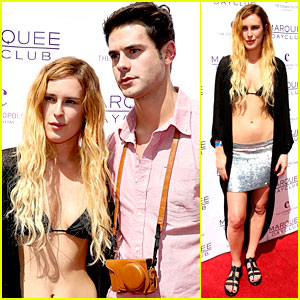 Rumer Willis: Bikini Babe at Marquee with Jayson Blair!