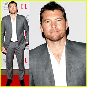 Sam Worthington: Hello Elle Australia Fashion Show!