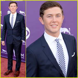 Scotty McCreery - ACM Awards 2013 Red Carpet