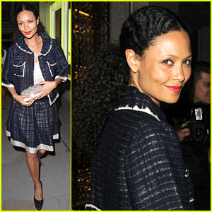 Thandie Newton: Vogue Festival Louis Vuitton Celebration!