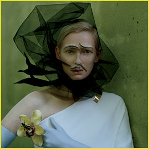 Tilda Swinton: Centipede Covered for 'W' Magazine May 2013
