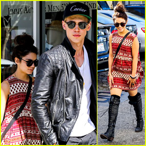 Vanessa Hudgens & Austin Butler: Cafe Roma Lunch Lovers!