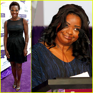 Viola Davis & Octavia Spencer: Silver Rose Awards Gala!
