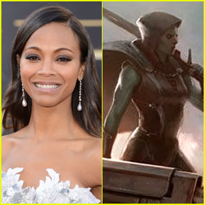Zoe Saldana: Gamora in 'Guardians of the Galaxy'?
