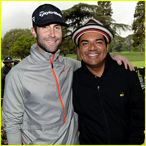 Adam Levine: George Lopez's Celebrity Golf Classic 2013!