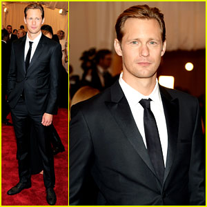 Alexander Skarsgard - Met Ball 2013 Red Carpet