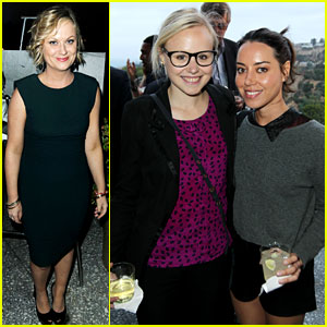 Amy Poehler & Aubrey Plaza: Worldwide Orphans Event!