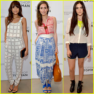 Ashley Madekwe & Louise Roe: British New Wave Topshop Event