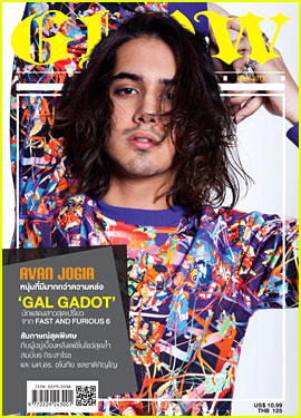 Avan Jogia Covers 'Glow' Magazine May 2013