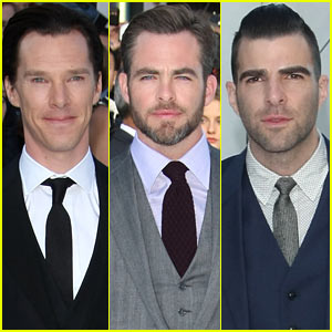 Benedict Cumberbatch & Chris Pine: 'Star Trek Into Darkness' UK Premiere