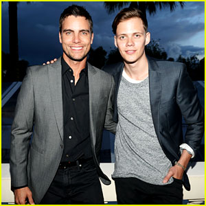 Bill Skarsgard & Colin Egglesfield Support 'Rhino' at Cannes!