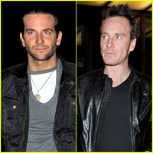 Bradley Cooper & Michael Fassbender: Dinner in London!