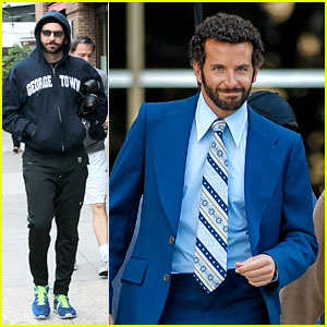 Bradley Cooper Works Out Before Filming 'American Hustle'