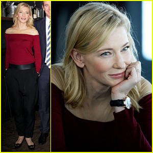 Cate Blanchett: Suncorp Twenties Launch!