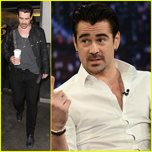 Colin Farrell: 'Late Night with Jimmy Fallon' Debut!