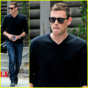 Cory Monteith Steps Out After 'Glee' Creative Twist Revealed