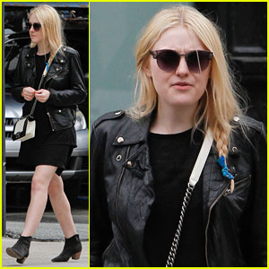 Dakota Fanning: Braided Beauty in NYC