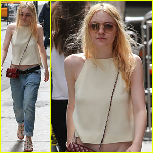 Dakota Fanning: Spring in New York!