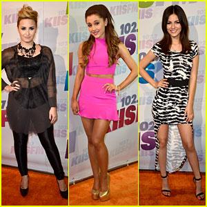 Demi Lovato & Ariana Grande: Wango Tango 2013!
