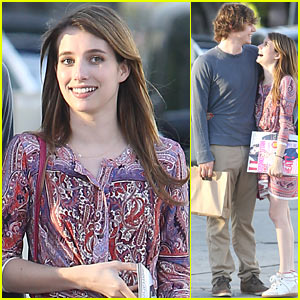 Emma Roberts & Evan Peters: Lovey-Dovey in L.A.!