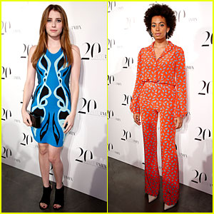 Emma Roberts & Solange Knowles: Intermix 20th Anniversary Celebration!