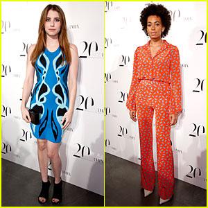 Emma Roberts & Solange Knowles: Intermix 20th Anniversary Celebration!