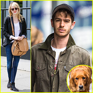 Emma Stone & Andrew Garfield: Separate New York Strolls!