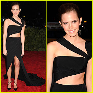 Emma Watson - Met Ball 2013 Red Carpet