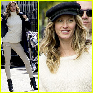 Gisele Bundchen: H&M's Newest Face!