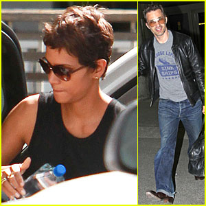 Halle Berry & Olivier Martinez: Separate L.A. Outings!