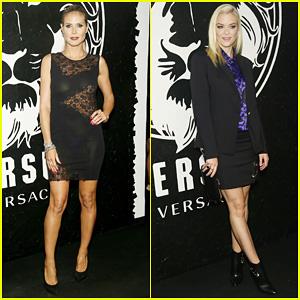 Heidi Klum & Jaime King: Versus Versace Launch!