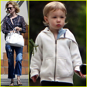 January Jones: Doctor Day with Xander!