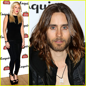 Jared Leto & Ellie Goulding: Esquire Summer Party!