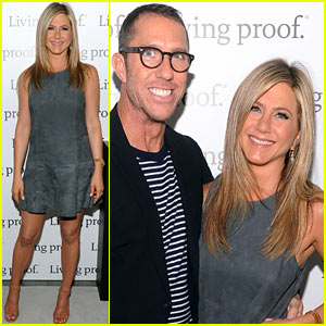 Jennifer Aniston: Living Proof Good Hair Day Web Series Launch!