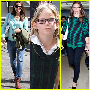Jennifer Garner: Busy Week with Violet!