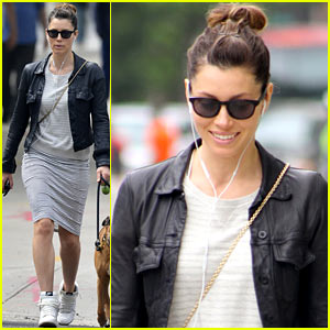 Jessica Biel on Toilet Strike: 'I Still Haven't Gone to the Bathroom!'