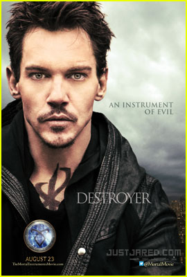 Jonathan Rhys-Meyers: 'Mortal Instruments' Exclusive Poster!